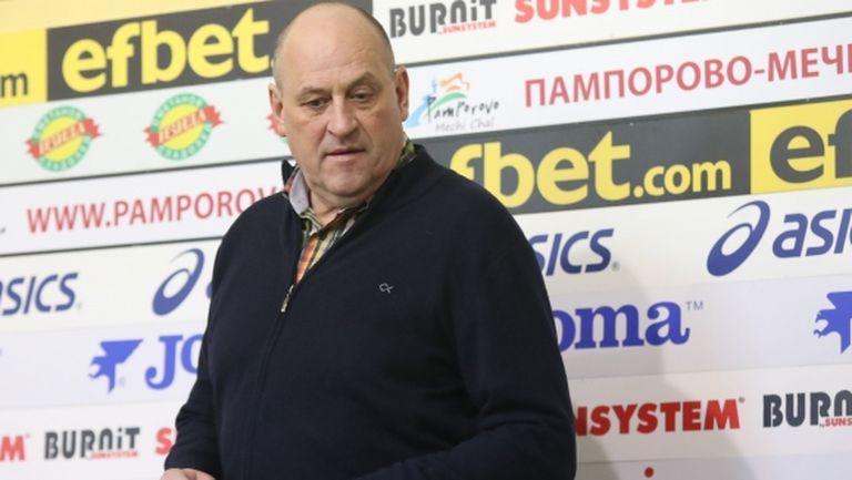 Първо в Sportal.bg: Росен Барчовски говори за контузията и смяната в националния отбор
