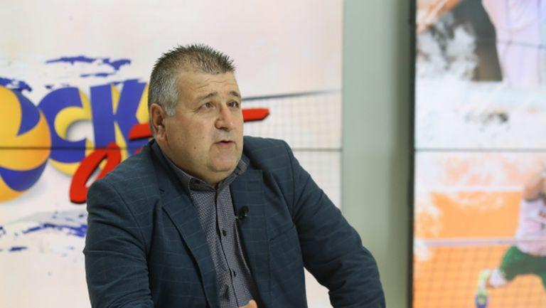Огнян Томов: Вальо Братоев няма и 2 часа тренировки, а игра над 2 часа и тайбрек