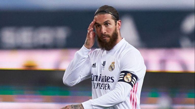 Манчестър Юнайтед не се е свързвал със Серхио Рамос