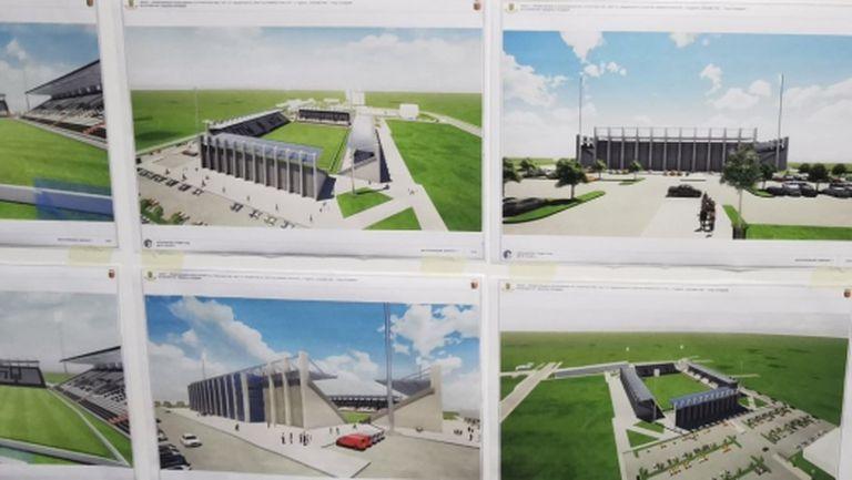 """Архитекти показаха идейна концепция за стадион """"Локомотив"""""""
