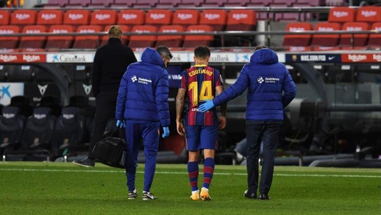 Коутиньо може да не играе този сезон поради финансовите проблеми на Барса