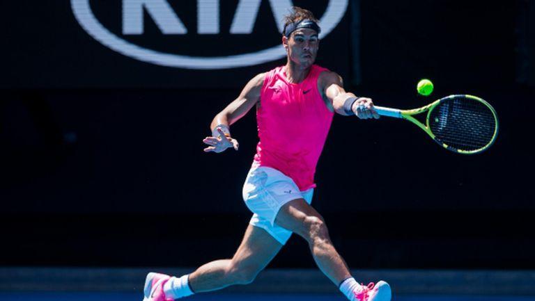 Надал безпроблемно прескочи втория кръг на Australian Open