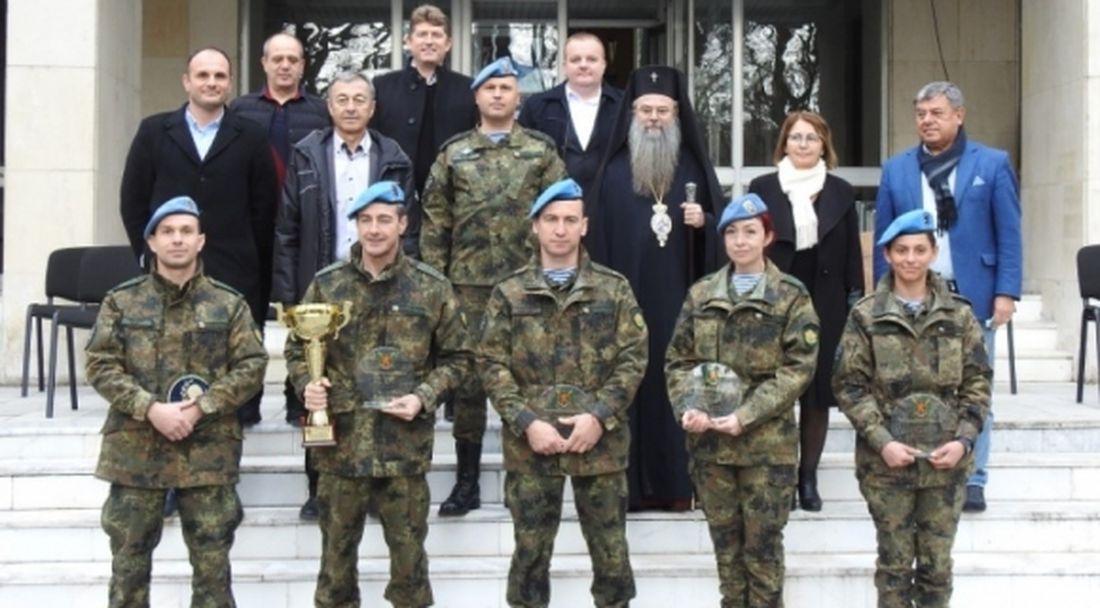 ЦСКА-София уважи призьорите от държавните военни шампионати