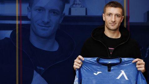 Левски подписа договор с нов защитник