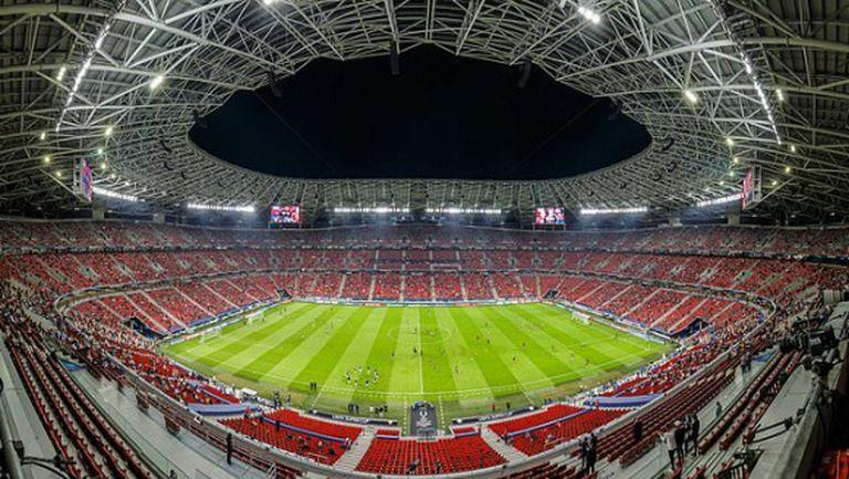 Двубоят между Волфсбергер и Тотнъм от Лига Европа ще се играе в Будапеща