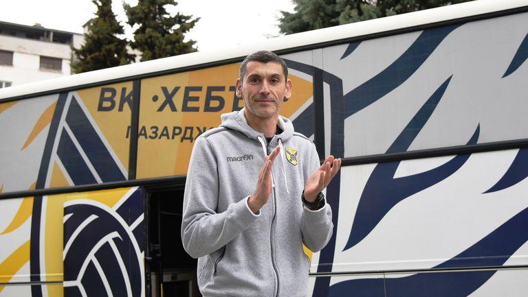 Сашо Попов: Хебър е флагманът на Пазарджик
