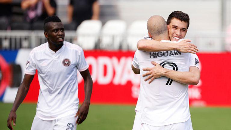 Гонсало Игуаин вкара два гола при успеха на Интер Маями с 3:2 над Синсинати