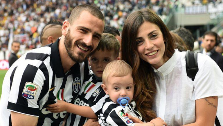 Звездата на Юве и Италия: Синът ми е голям фен на Торино