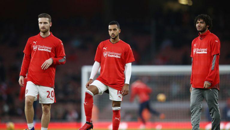 Мустафи е готов да помага на Арсенал в неделя