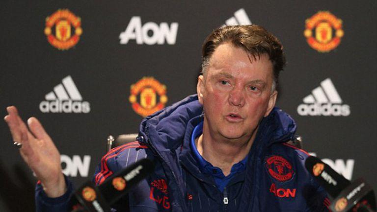 Ван Гаал: Феновете на Юнайтед са най-добрите в света (ВИДЕО)
