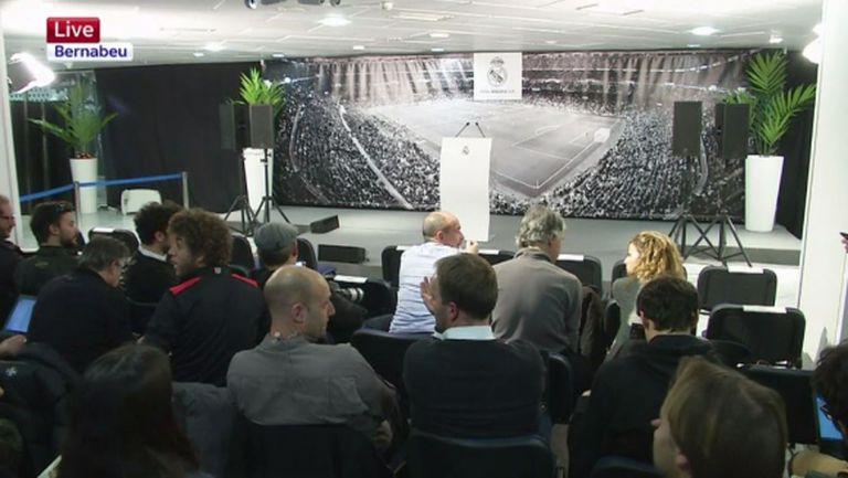 Сериозно закъснение на пресконференцията на Реал