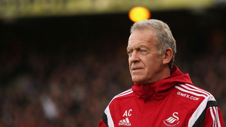 Алън Къртис остава мениджър на Суонзи до края на сезона