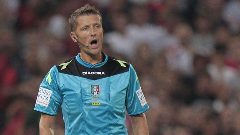 Даниеле Орсато ще ръководи битката между Рома и Милан
