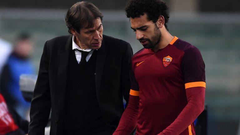Салах ще бъде готов за дербито с Милан