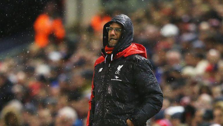 Реакциите на Клоп при головете на Ливърпул (видео)