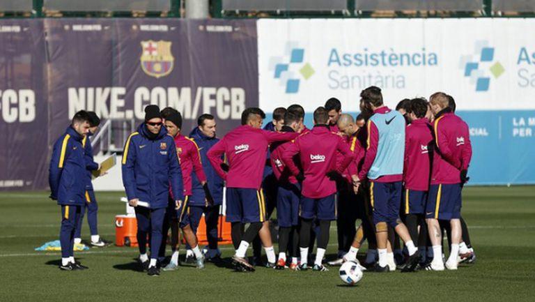 Меси остана у дома, Барса с 18 играчи в Билбао