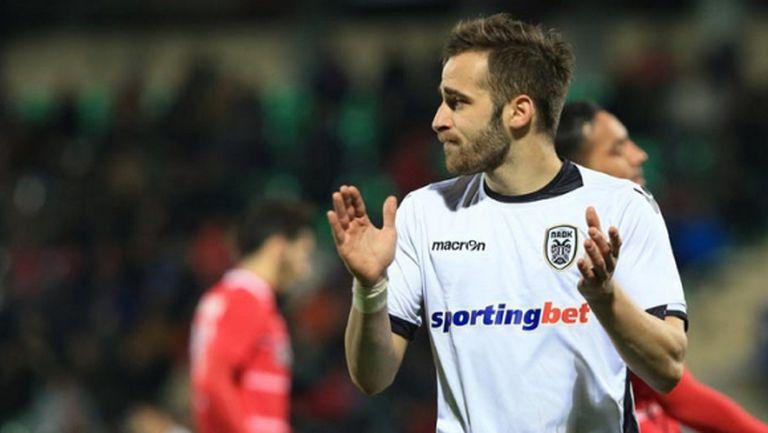Без Бербатов ПАОК изпусна победата в 91-ата минута