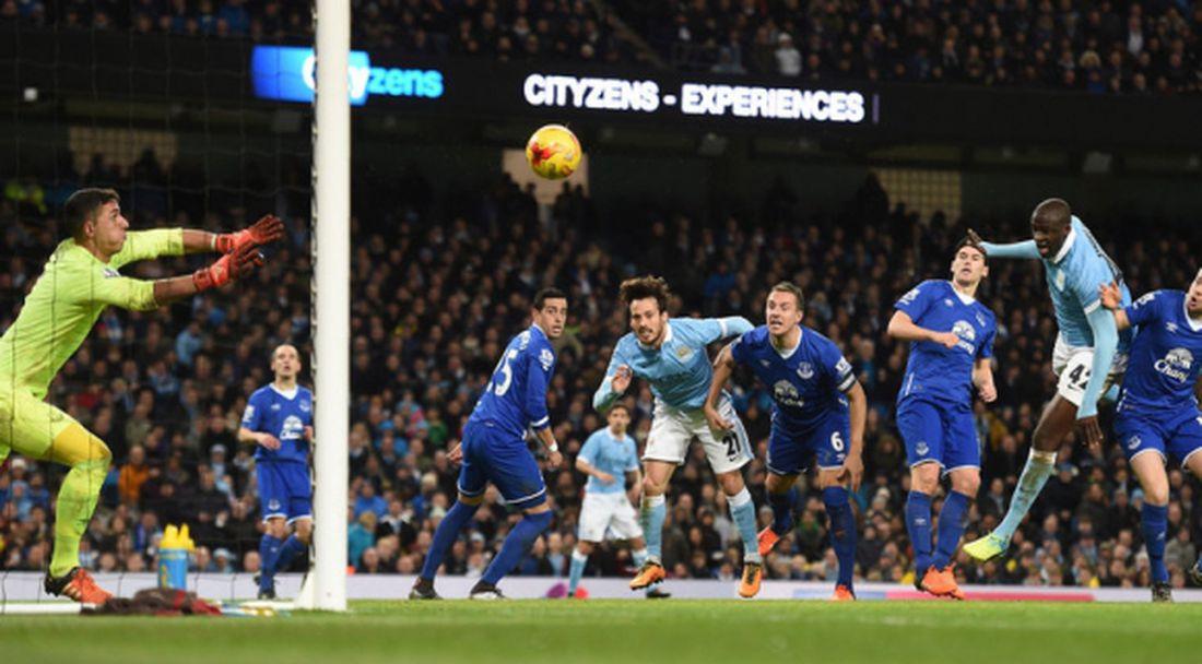Манчестър Сити на финал след обрат срещу Евертън
