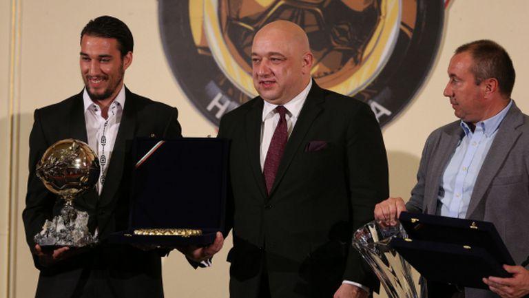 """Кралев цитира мъдрост на Христо Стоичков от 1996 г. на церемонията за """"Футболист на годината"""""""