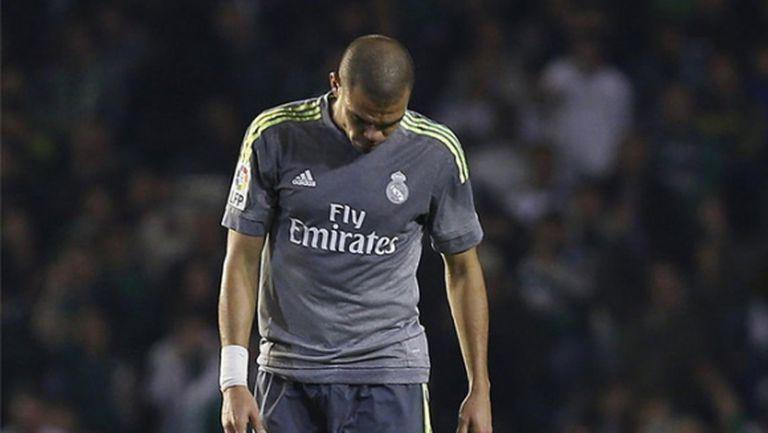 Пепе пропуска следващия мач на Реал