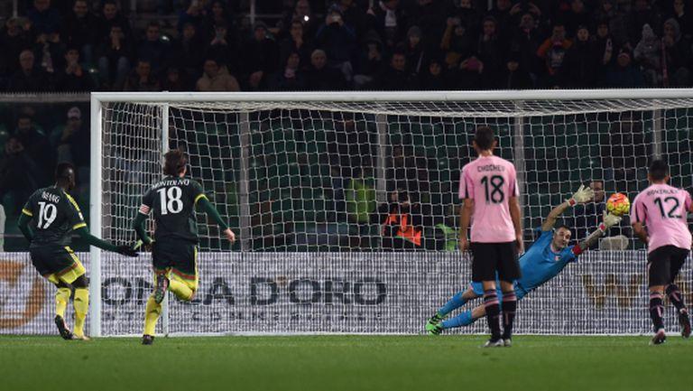 Милан се бетонира шести с бой над Чочевия Палермо