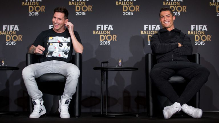 Роналдо и Меси са като Надал и Федерер