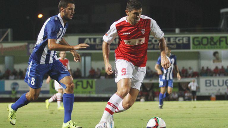 Макриев с нови два гола в Кипър, този път срещу тима на Башов