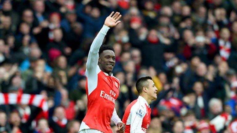 Арсенал пречупи десетима от Лестър в 95-ата минута и завърза битката на върха (видео)