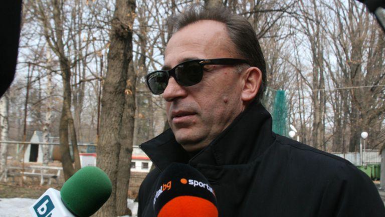 Бивш шеф на ЦСКА: Официално се отказвам от 100 000 лева, които имам да взимам от клуба