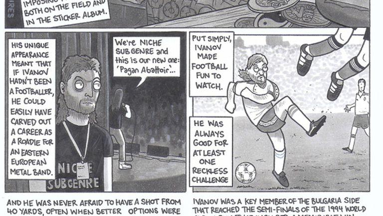Англичани си спомниха за Трифон Иванов с комикс