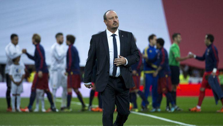 Бенитес: Барса има модел, а Реал Мадрид започва от нулата всяка година