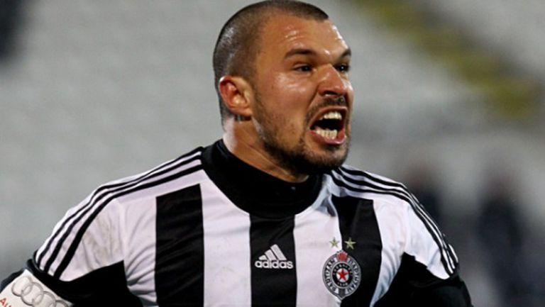 В Партизан вярват, че Божинов може да стане голмайстор на Сърбия