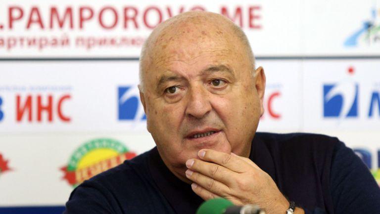 Венци Стефанов се усъмни, че ЦСКА и Локо Сф имат пари за участие във Висша лига (видео)