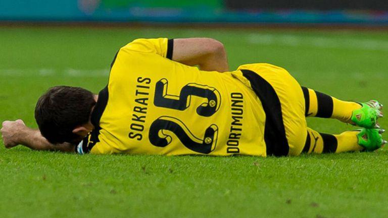 Контузия повали титуляр на Дортмунд