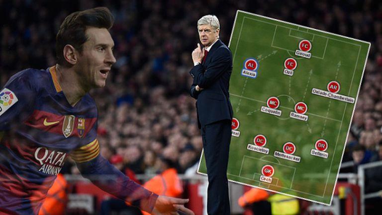 Така Арсенал може да победи Барса