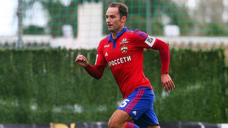 Широков с първи голове за ЦСКА