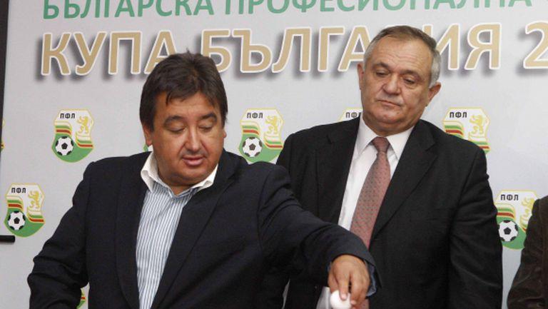 Караиванов: Във Висшата лига не ни трябва потънал в дългове ЦСКА