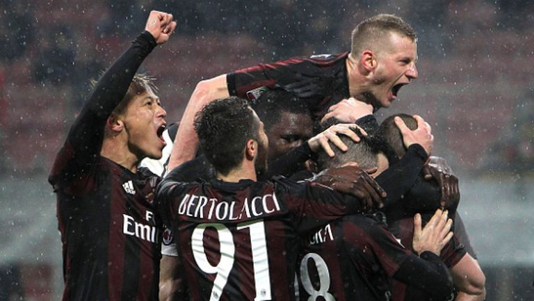 Пестелива победа продължи възхода на Милан (видео)