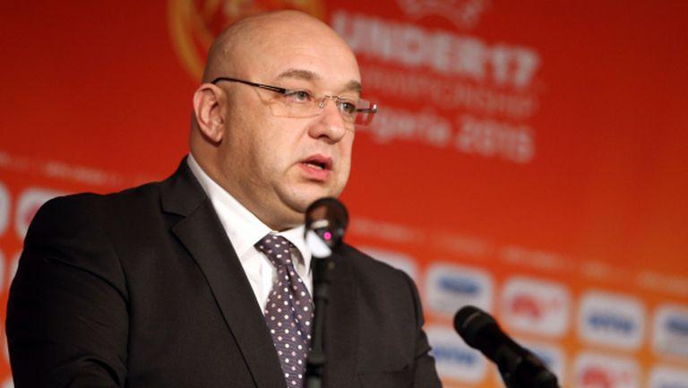 Кралев: До края на седмицата завършваме проекта за Висша лига