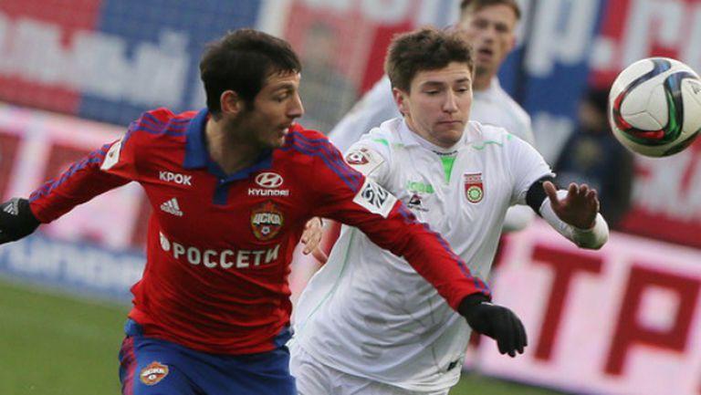 ЦСКА (Москва) и Краснодар се класираха на 1/2-финал за Купата на Русия