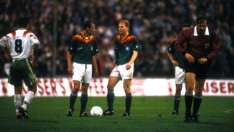 Туньо и Лече до ранни зори на дискотека преди великата победа над Германия през 1995