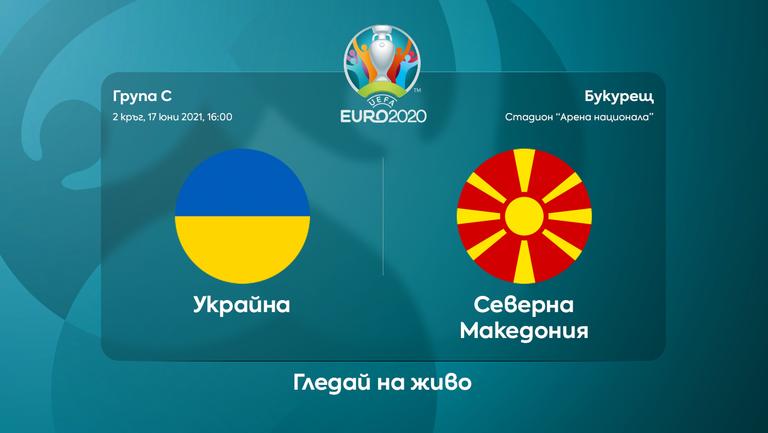Само победа устройва Украйна и Северна Македония