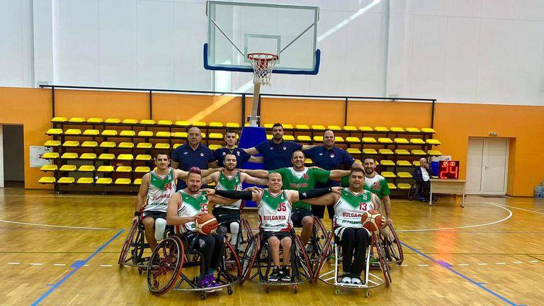 Историческа победа за България по баскетбол на колички
