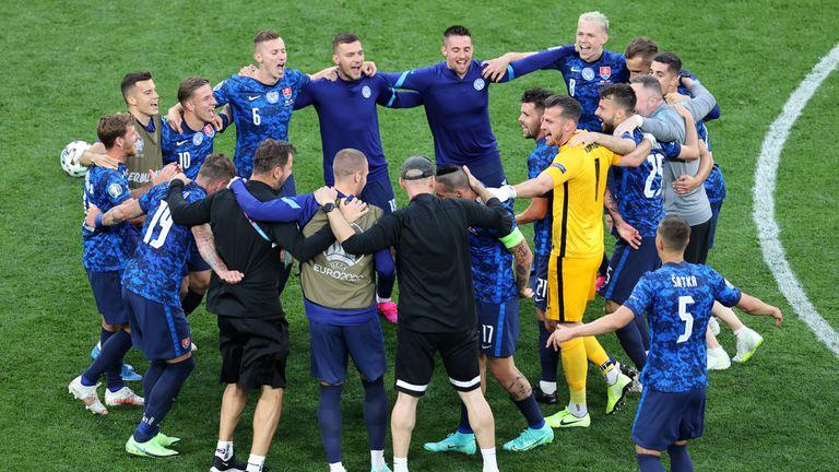 Два положителни теста в отбора на Словакия