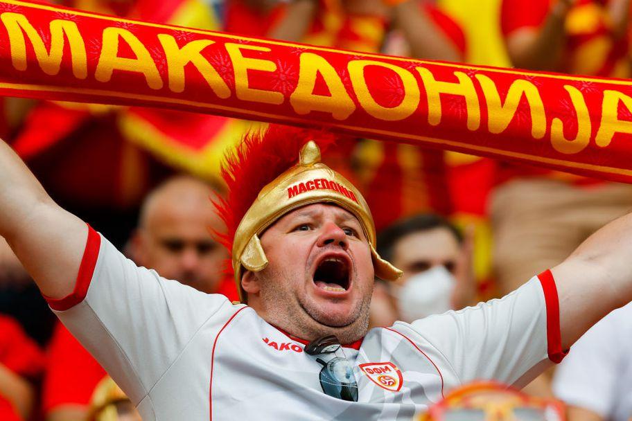 Красота и колорит на трибуните на Украйна - Северна Македония