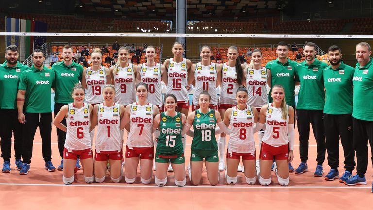 Община Русе приветства националния отбор по волейбол за жени преди финалите от Европейската златна лига