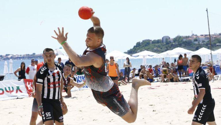 Националите по плажен хандбал ще играят контроли в Румъния