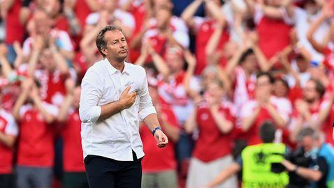 Треньорът на Дания: Гордея се с тези момчета, пътят ни на Евро 2020 не е приключил