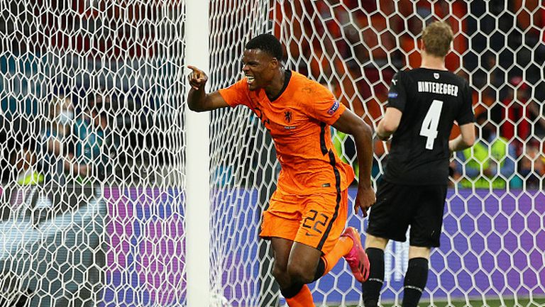 Дъмфрис довърши австрийците с втори гол за Нидерландия