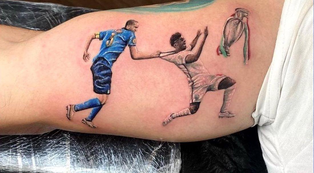 Култов момент от Евро 2020 бе увековечен в татуировка